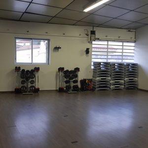 Salle de cours collectif
