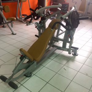 Super inclined bench press