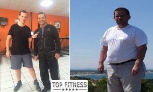 Jacs avant et aprés transformation physique
