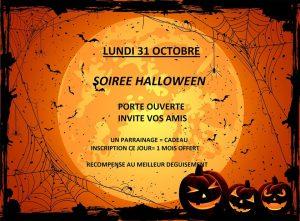 Soirée Halloween à TopFitness le 31 octobre 2016