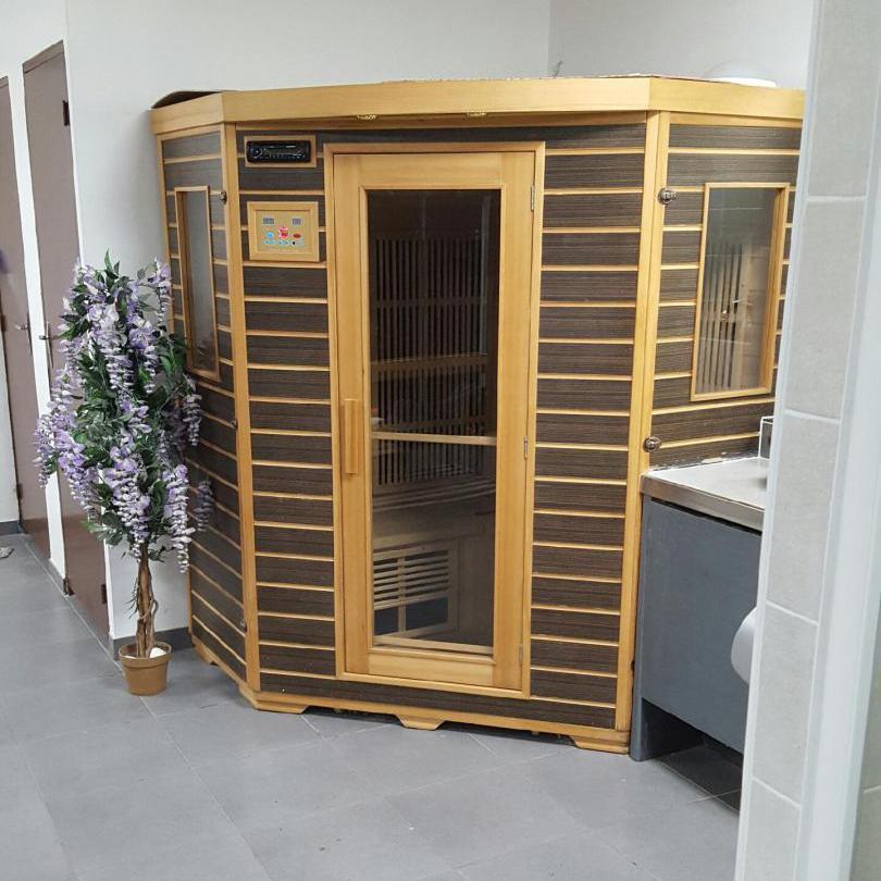 sauna haut de gamme top fitness