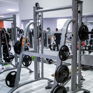 POWER RACK AVEC GUIDAGE