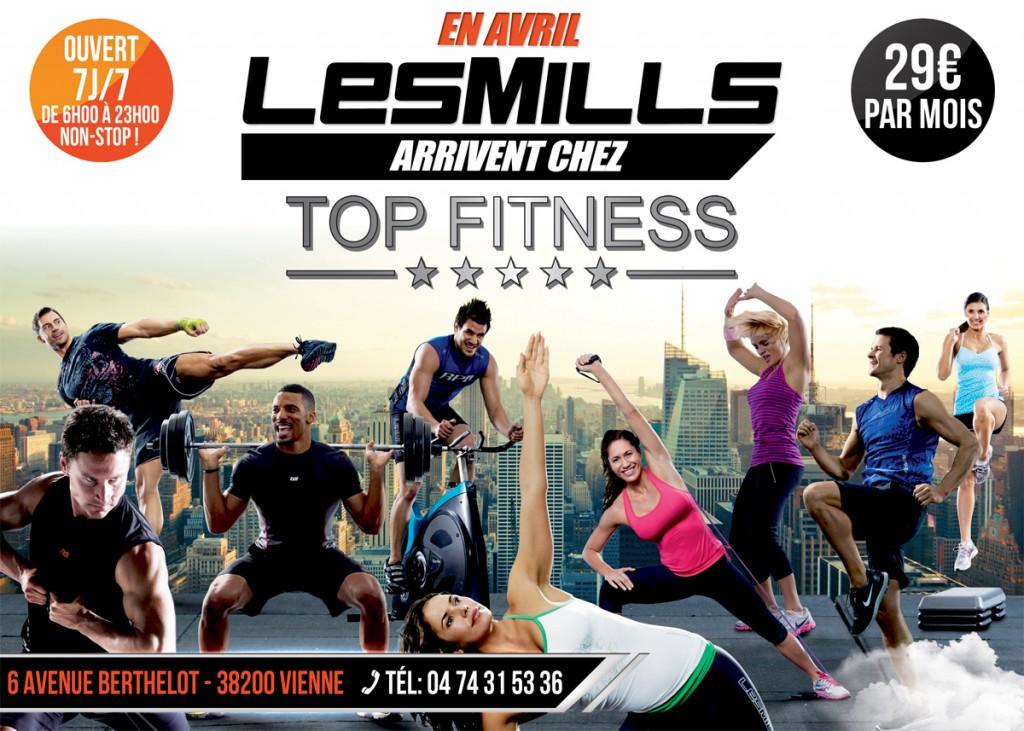 lesmills chez Top Fitness